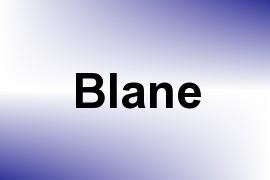 Blane name image