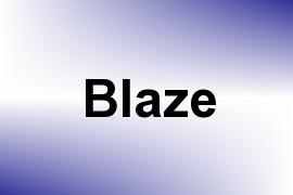 Blaze name image