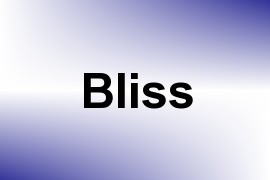 Bliss name image
