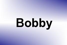 Bobby name image