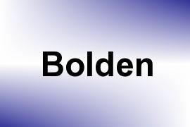 Bolden name image