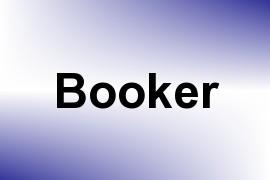 Booker name image