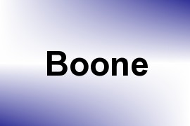 Boone name image