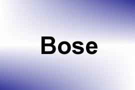 Bose name image