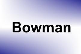 Bowman name image