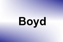 Boyd name image