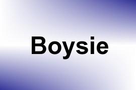 Boysie name image