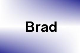 Brad name image