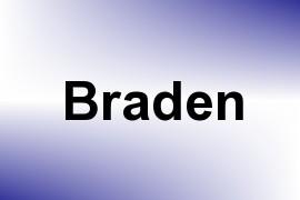 Braden name image