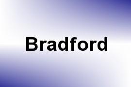 Bradford name image