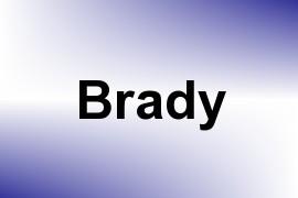 Brady name image