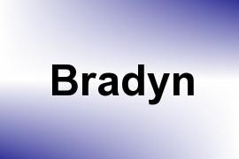 Bradyn name image