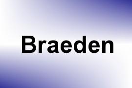 Braeden name image