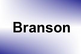 Branson name image