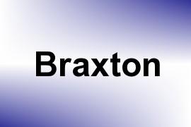 Braxton name image