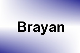 Brayan name image