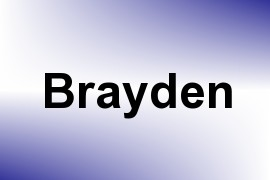 Brayden name image