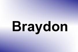 Braydon name image
