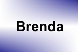 Brenda name image