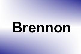 Brennon name image