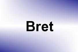 Bret name image
