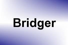 Bridger name image