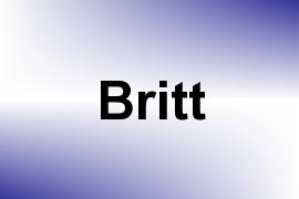 Britt name image