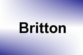 Britton name image