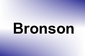 Bronson name image