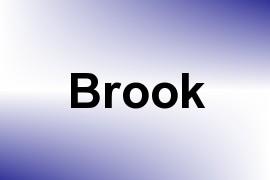 Brook name image
