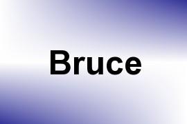 Bruce name image
