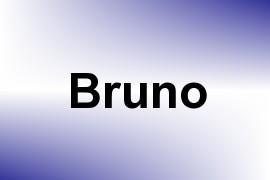 Bruno name image