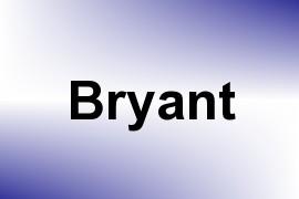 Bryant name image