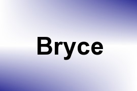 Bryce name image