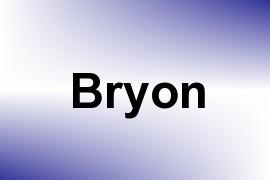 Bryon name image