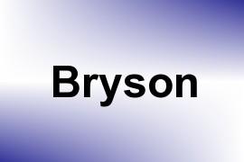 Bryson name image