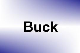 Buck name image