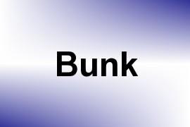 Bunk name image