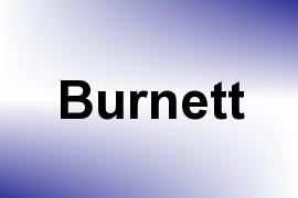 Burnett name image