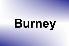 Burney name image