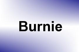 Burnie name image