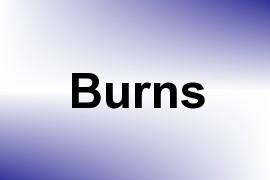 Burns name image