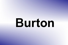 Burton name image