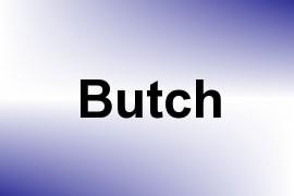 Butch name image