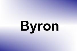 Byron name image