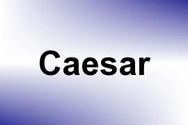 Caesar name image