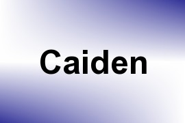 Caiden name image