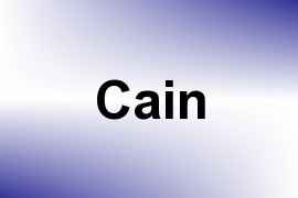 Cain name image