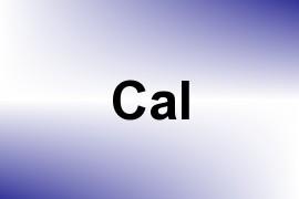 Cal name image
