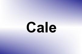 Cale name image